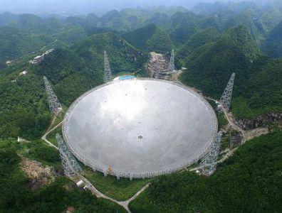 中国天眼:世界上口径最大的单天线射电望远镜